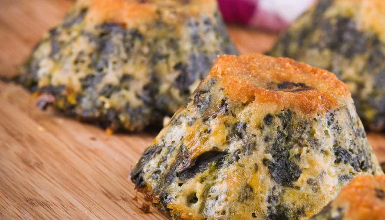 Sformato di verdure con pane secco