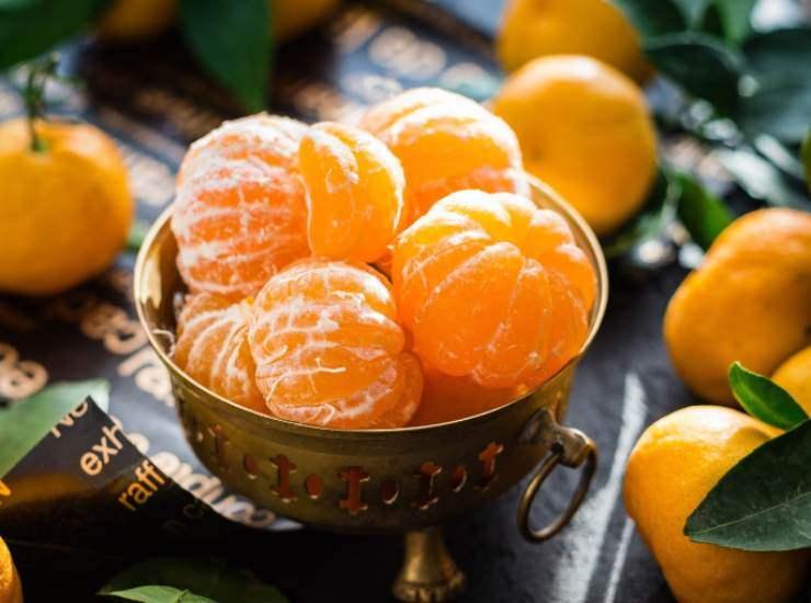 Sorbetto al mandarino FOTO ricettasprint