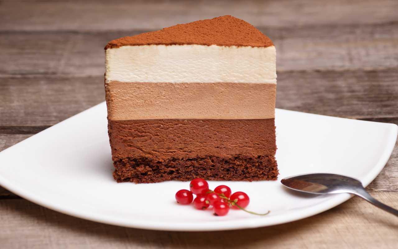 torta morbida 3 cioccolat FOTO ricettasprint