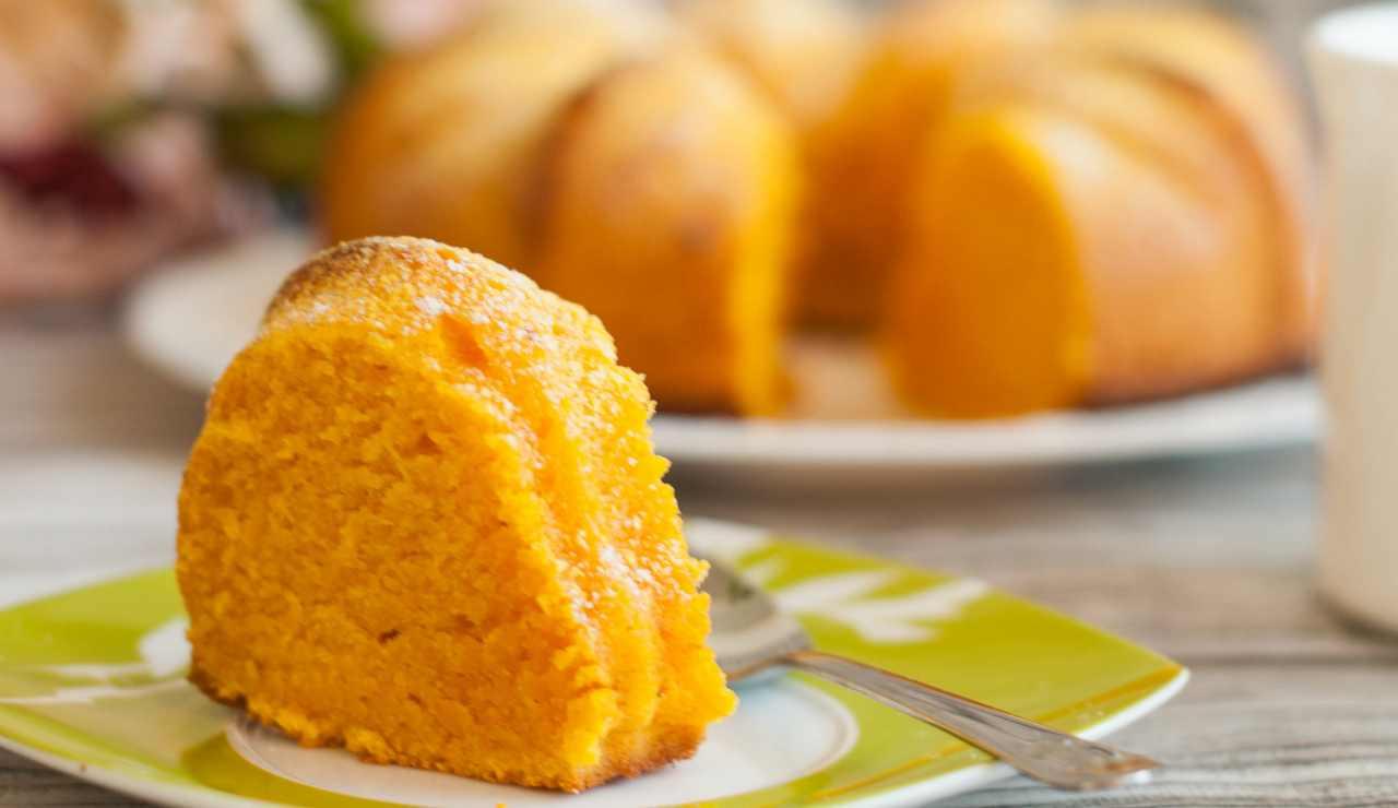 Torta soffice allo sciroppo di arancia ricettasprint