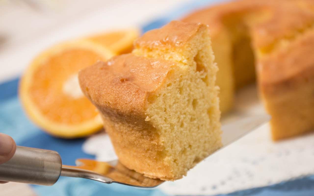 torta arancia umida ricetta FOTO ricettasprint