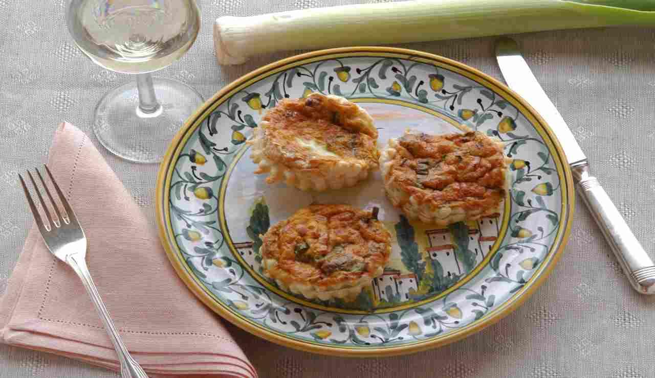 Tortini di zucchine e scamorza