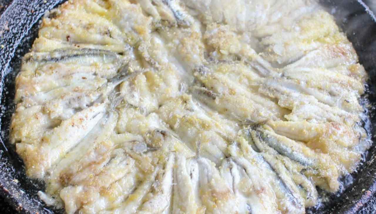 Finger food di acciughe tipico nostrano