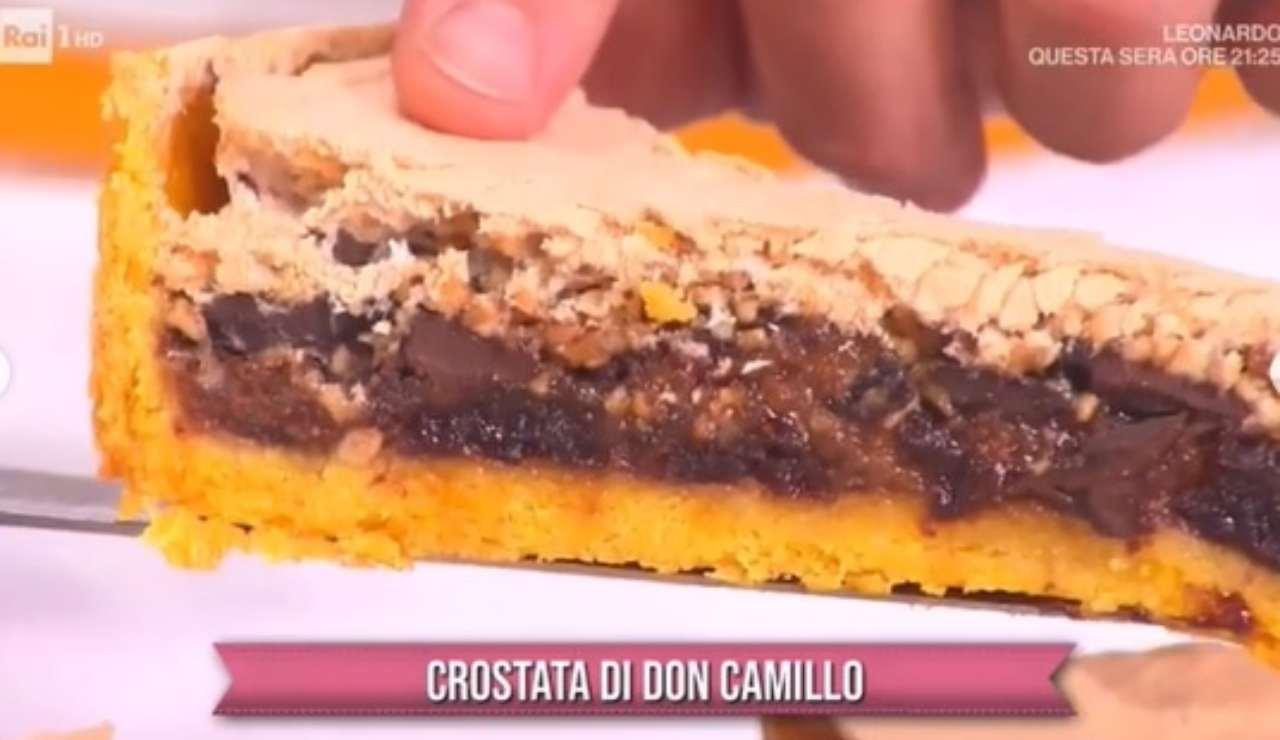 crostata di don camillo di daniele persegani ricettasprint