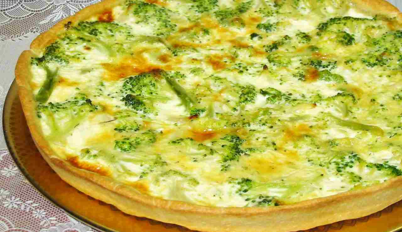 sfogliata di zucchine e broccoli