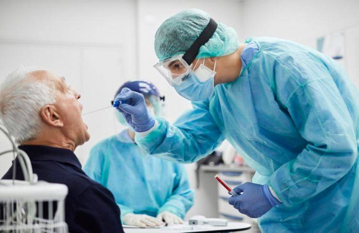 test antigenico Croce Rossa