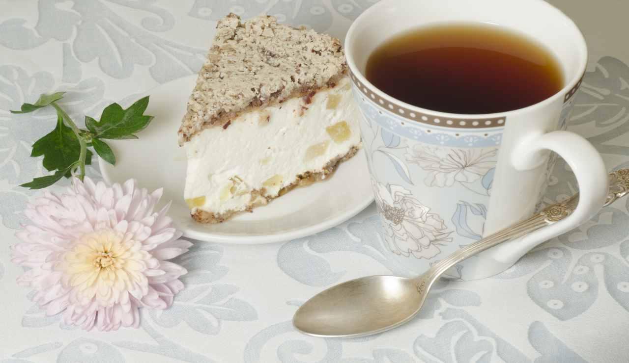 torta ricotta e pera vanigliata