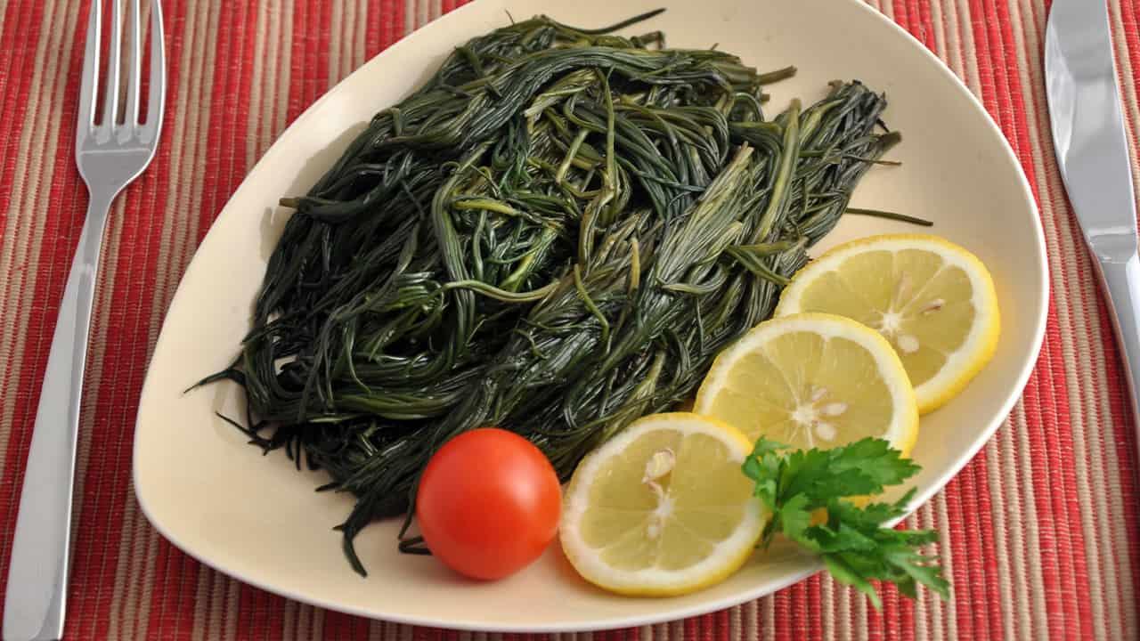 verdure con limone