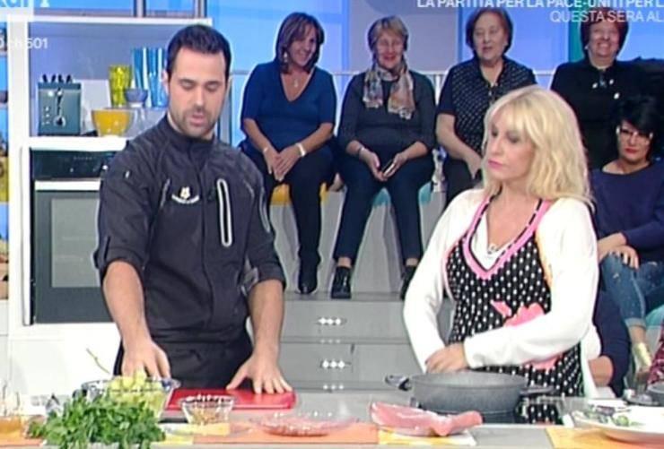 Antonella Clerici invaghita La Prova del Cuoco - RicettaSprint