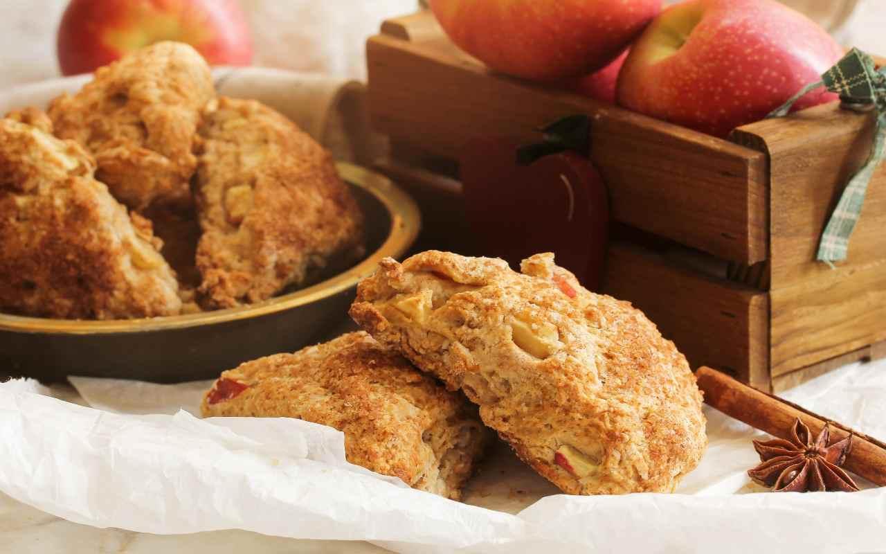 biscotti vegani mela ricetta FOTO ricettasprint