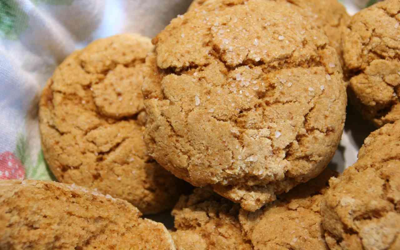 biscotti farina kamut panna ricetta FOTO ricettasprint