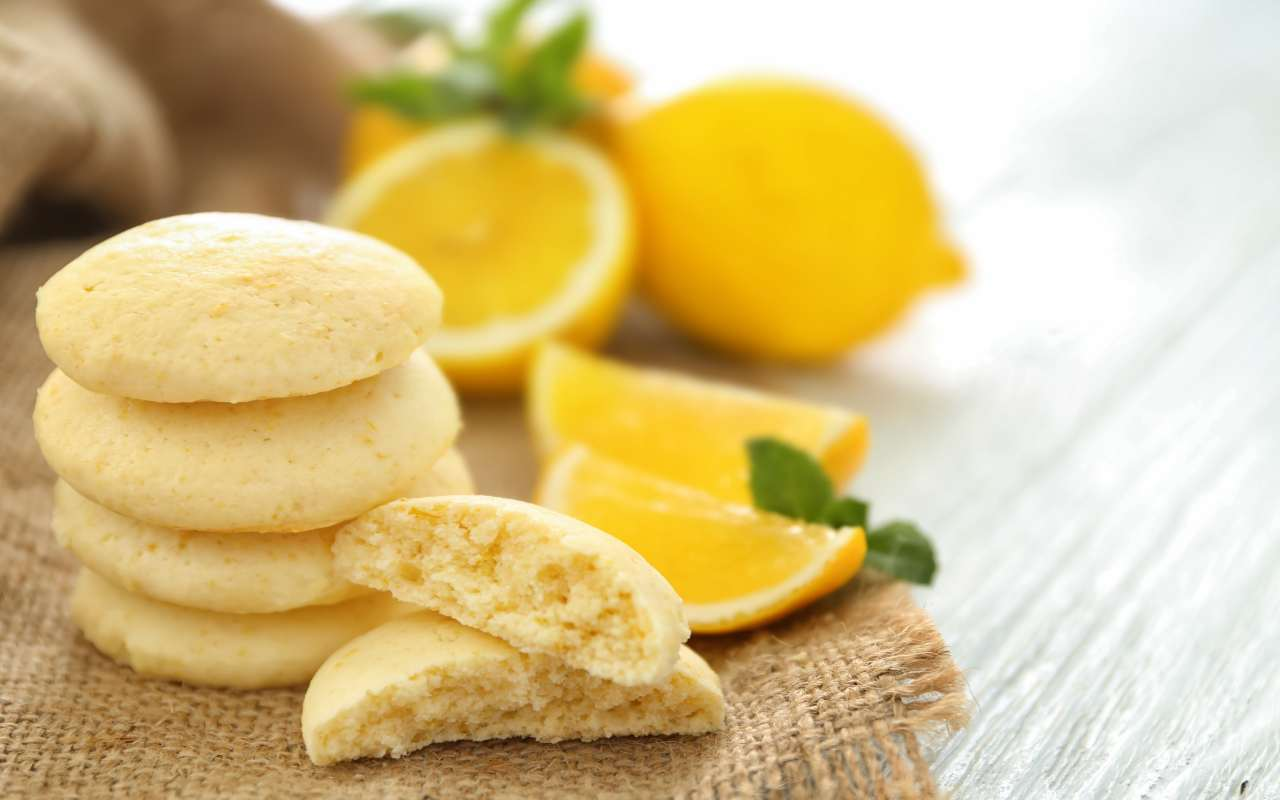 biscotti farina riso limone ricetta FOTO ricettasprint