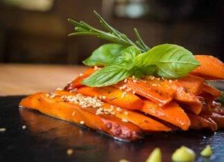 carote caramellate forno ricetta FOTO ricettasprint