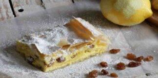 Cheesecake pasta fillo