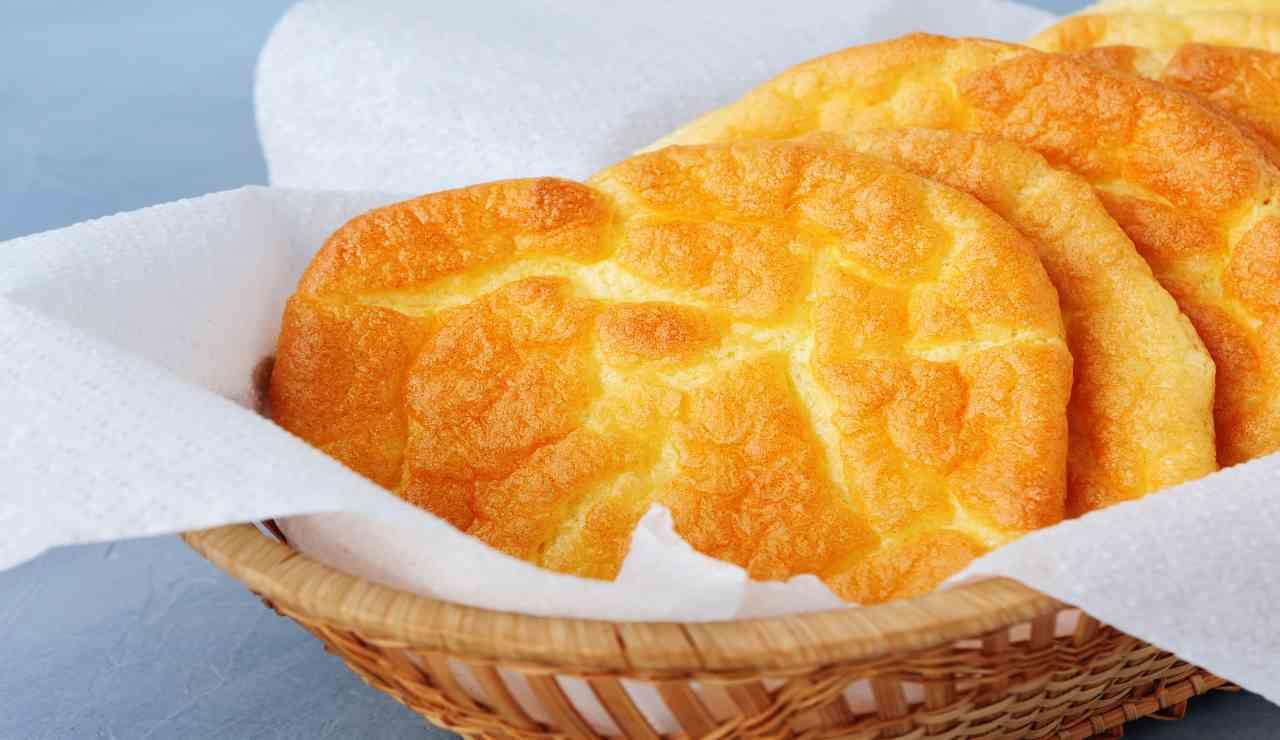 Cloud bread al miele
