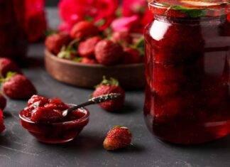 Conserva di fragole