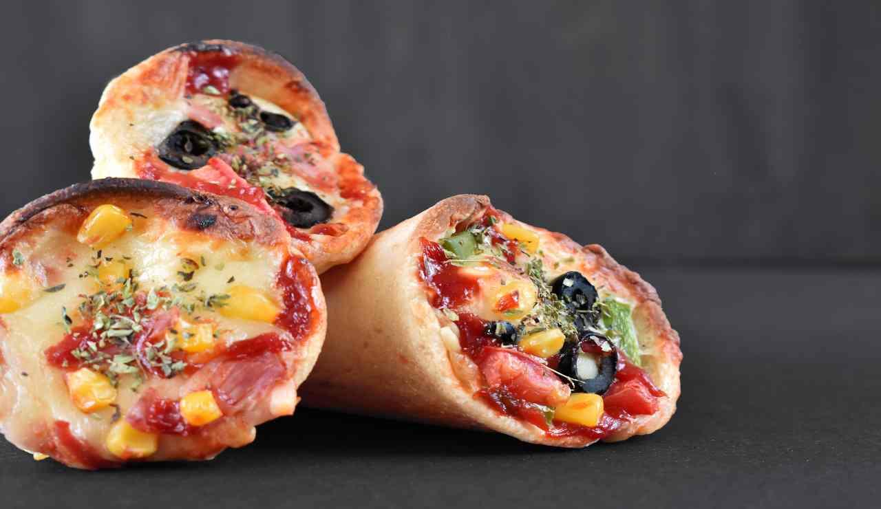 Coni pizza fantasia