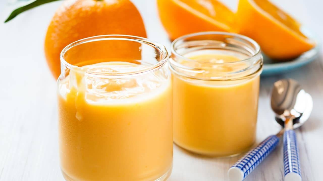 Dessert all'arancia senza lattosio