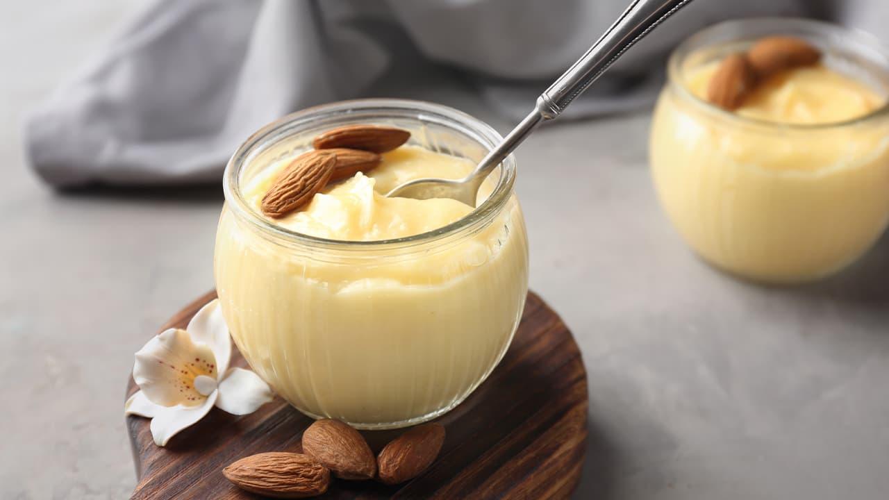 dessert alle mandorle senza lattsio