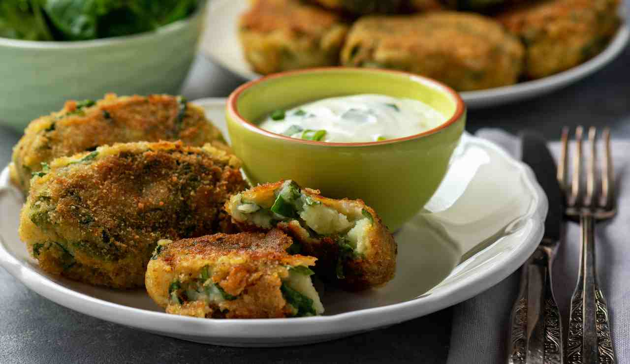 Crocchette di patate ed asparagi ricettasprint