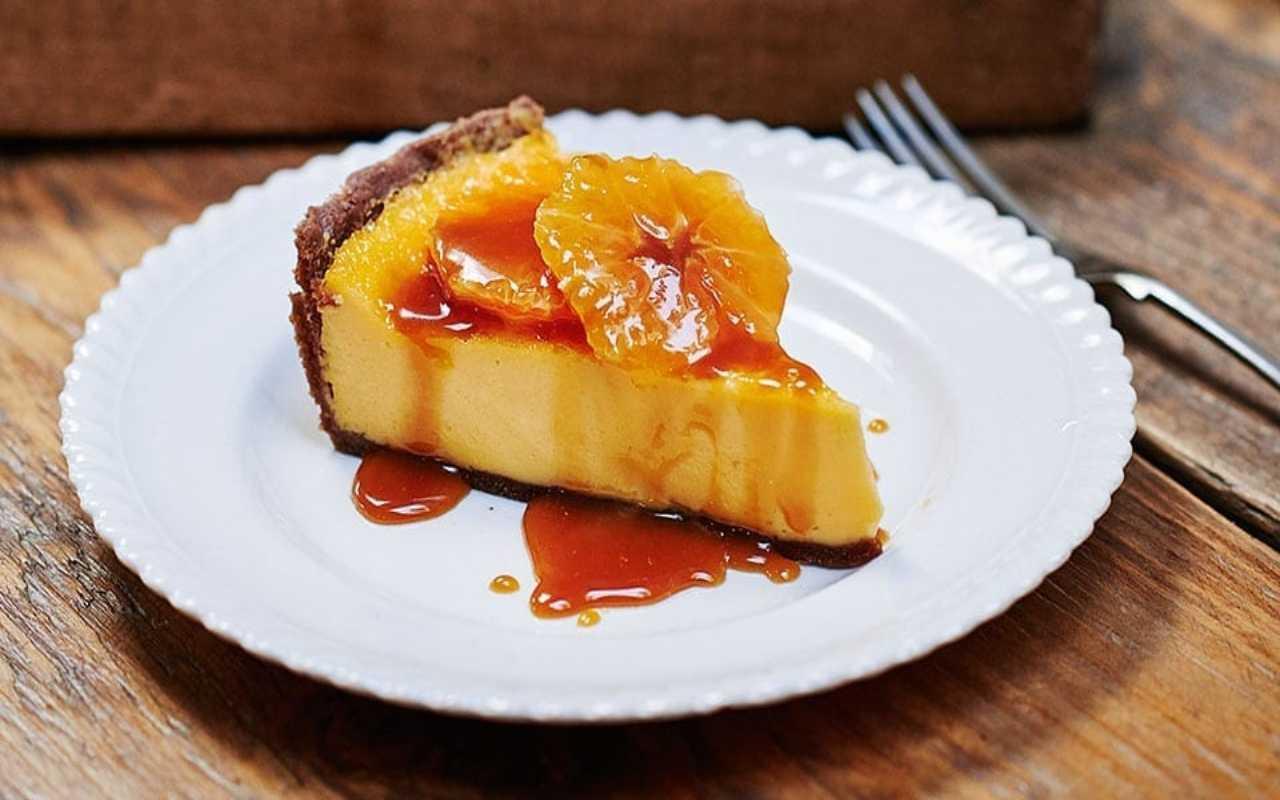 crostata crema arancia cioccolato ricetta FOTO ricettasprint