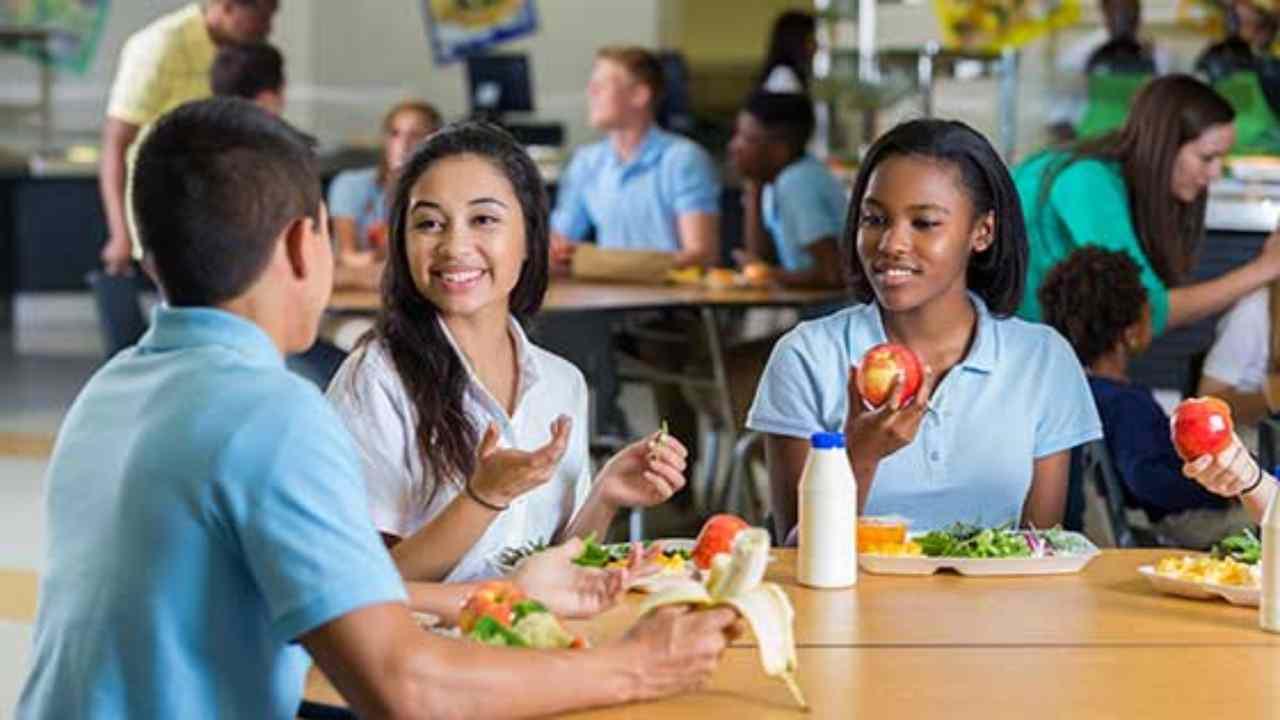 Dieta per gli adolescenti