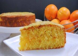 torta arancia amaretti ricetta FOTO ricettasprint