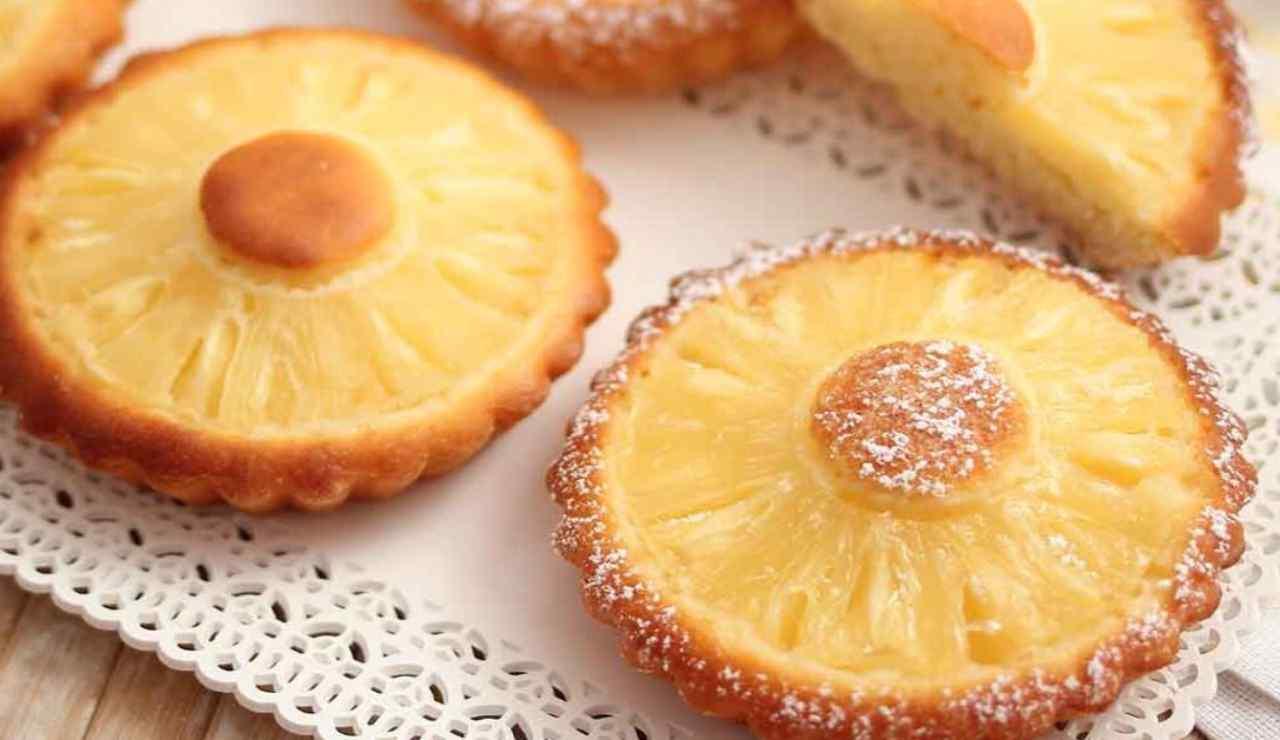 Dolcetti all'ananas di Benedetta Rossi