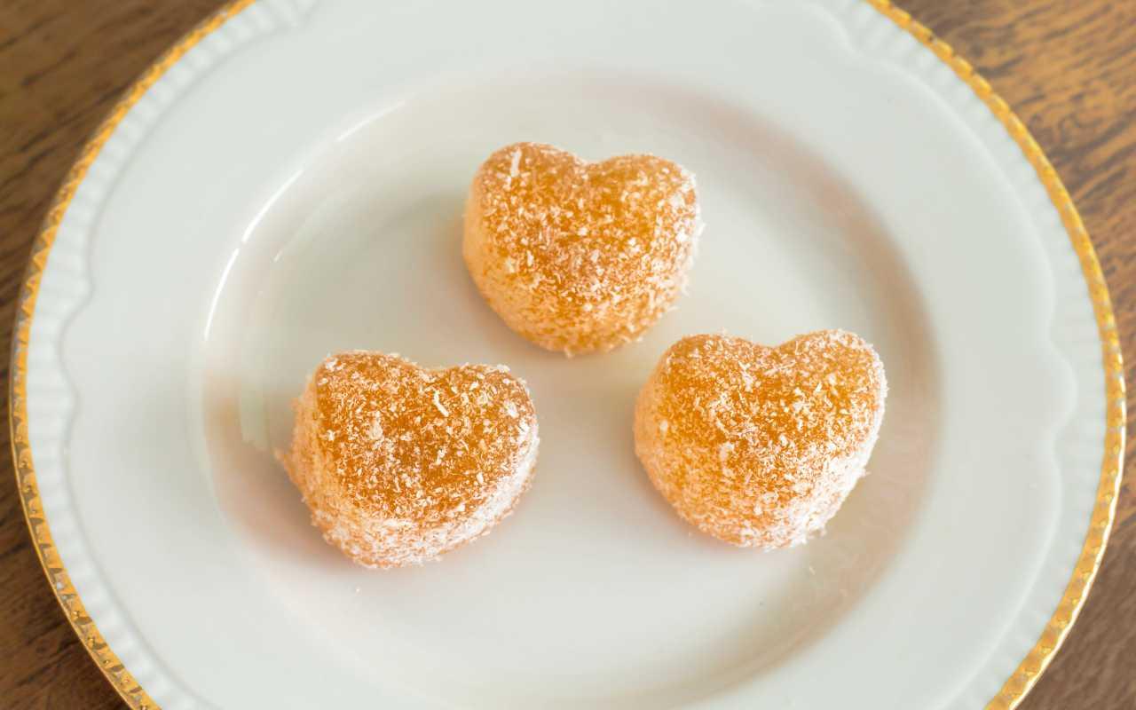 dolcetti arancia 5 minuti ricetta FOTO ricettasprint
