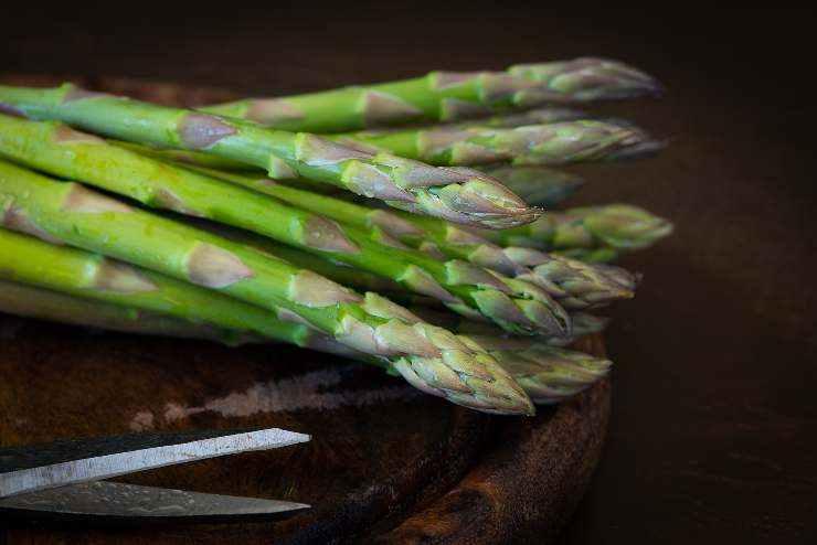 Gateau monoporzione con cuore di asparagi FOTO ricettasprint