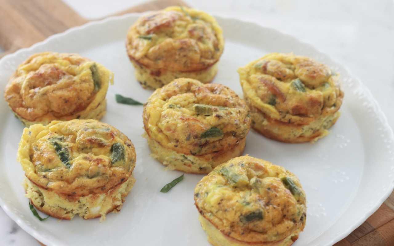 gateau monoporzione asparagi ricetta FOTO ricettasprint