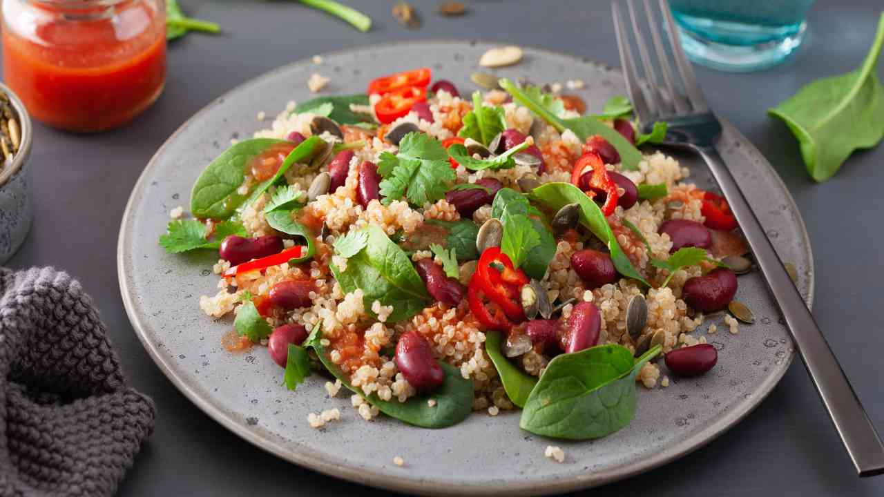 Cous cous con facgioli