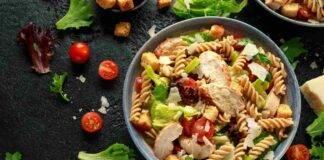 insalata pasta pollo ricetta FOTO ricettasprint