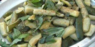 Finger food di ortaggi aromatico