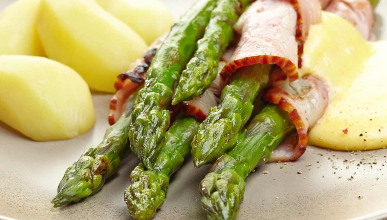 Involtini di carne e ortaggi primaverili