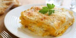 lasagne crepes zucca ricetta FOTO ricettasprint