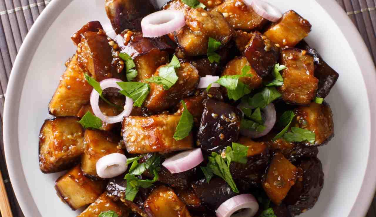 Melanzane aglio e peperoncino ricettasprint