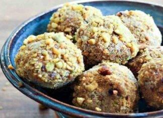 palline salmone pistacchio ricetta FOTO ricettasprint