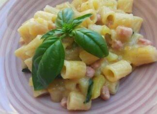 pasta pancetta crema patate ricetta FOTO ricettasprint
