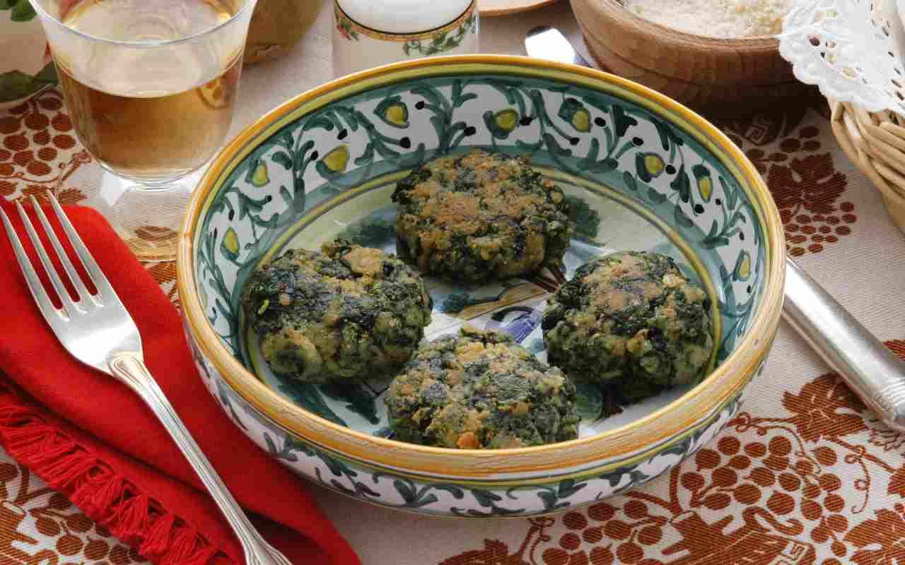 polpette spinaci patate ricetta FOTO ricettasprint