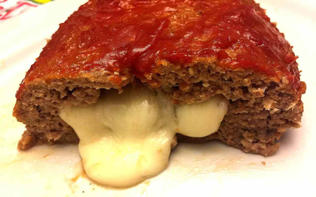 polpettone carne stracchino ricetta FOTO  ricettasprint
