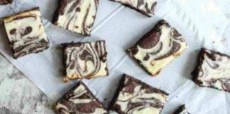 Quadrotti al doppio cioccolato e cocco