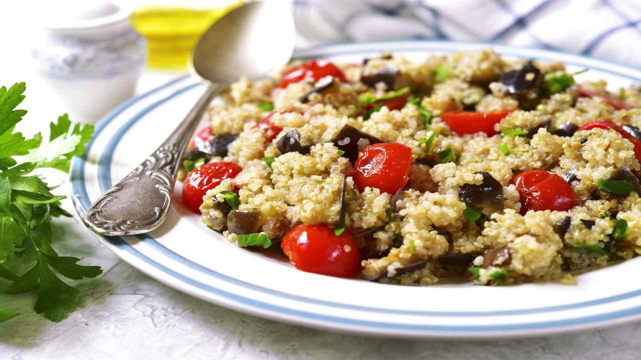 Quinoa con pomodori