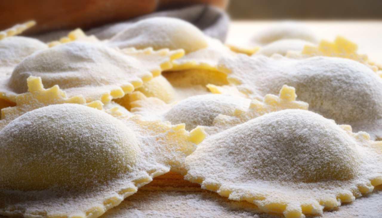 Primo farcito con formaggio funghi e salsiccia