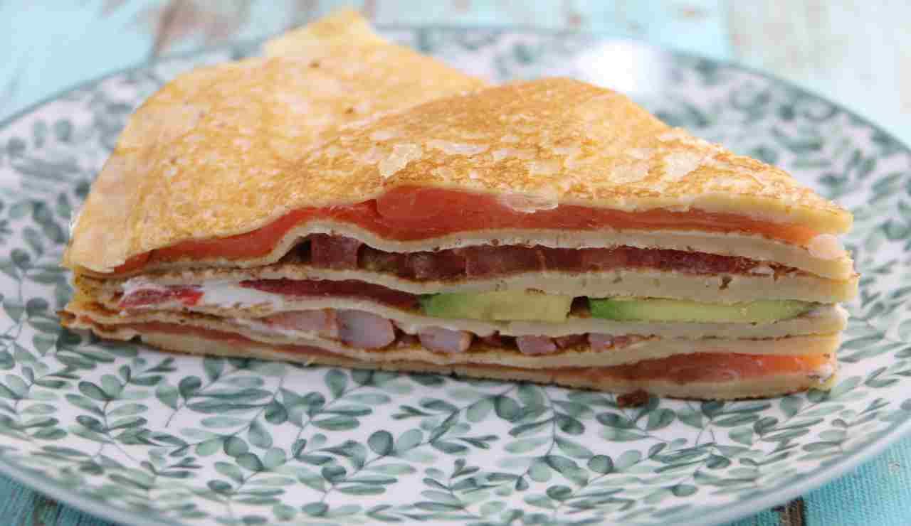 Sandwich di Crepes super