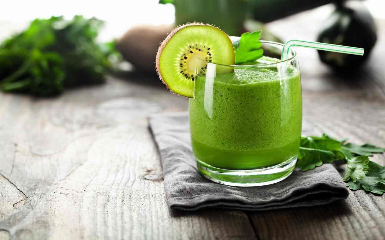 smoothie kiwi ricetta FOTO ricettasprint