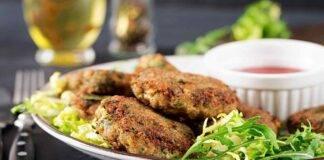 Hamburger spinaci e carne