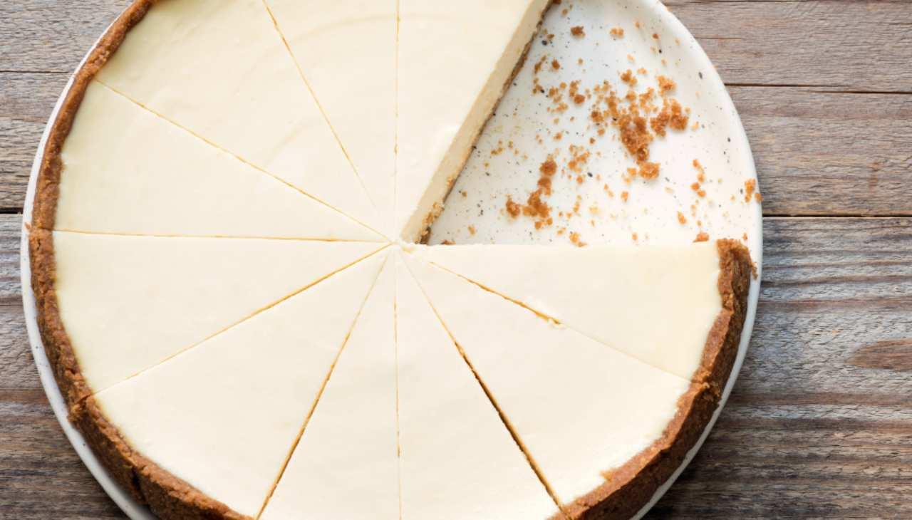 Torta fredda con crema di latte