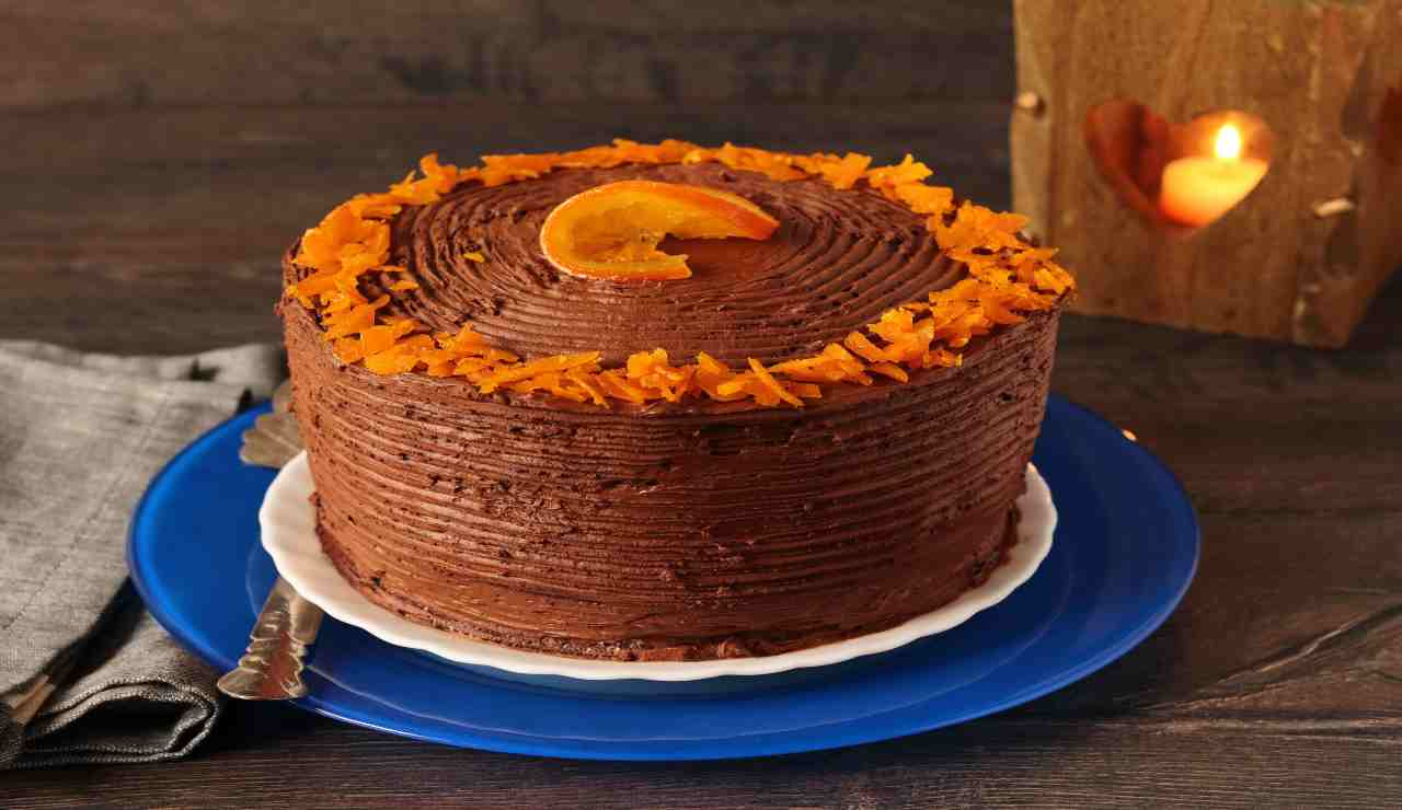 Torta ipo orange chocolate