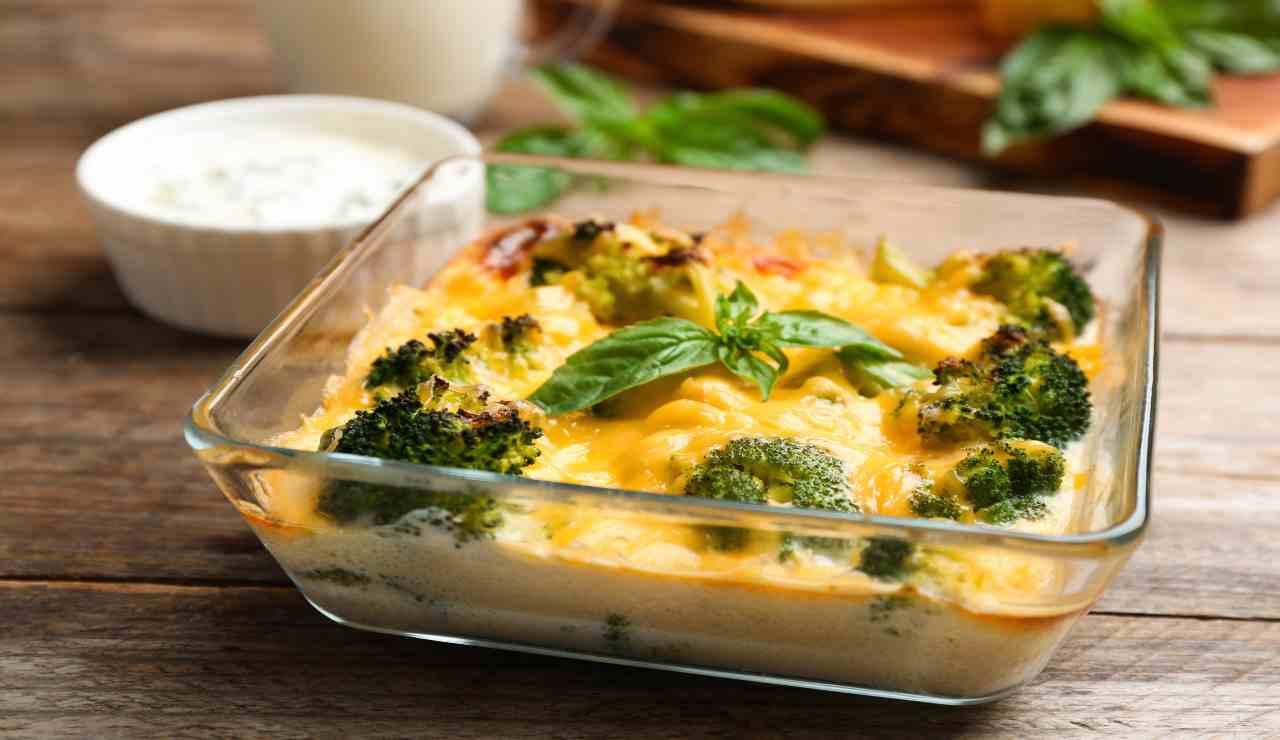 Tortino di quick e broccoli